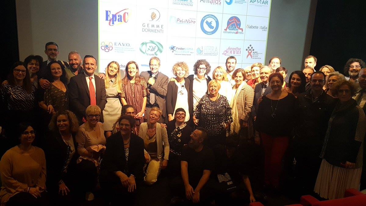 Patients' Associations during the Award Ceremony